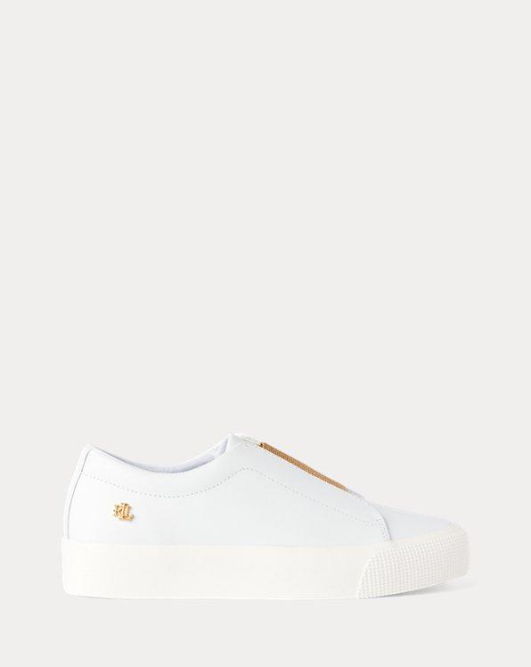 Plateau-Ledersneaker Isla