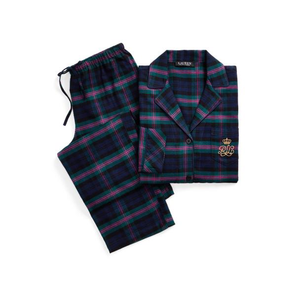 Polo Ralph Lauren Plaid Brushed Twill Sleep Set