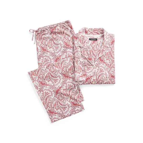 Polo Ralph Lauren Paisley Knit Cotton Sleep Set