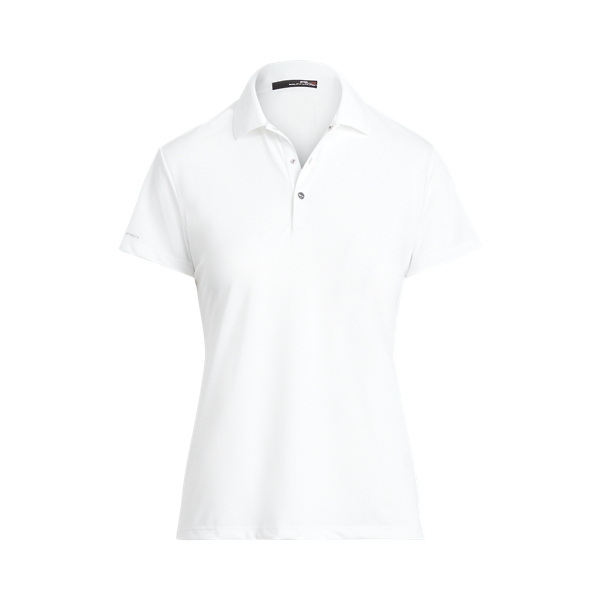 폴로 랄프로렌 Polo Ralph Lauren Pique Polo Shirt,Pure White