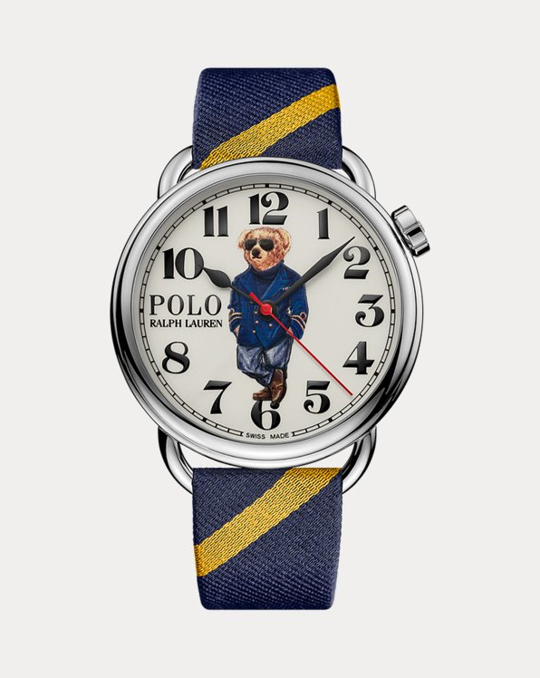 42 MM Nautical Polo Bear Watch