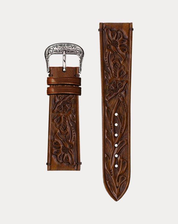 Embossed Calfskin Watch Strap