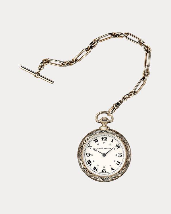 50 MM Rose Gold Pocket Watch