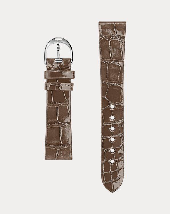 18x15 Classic Alligator Watch Strap
