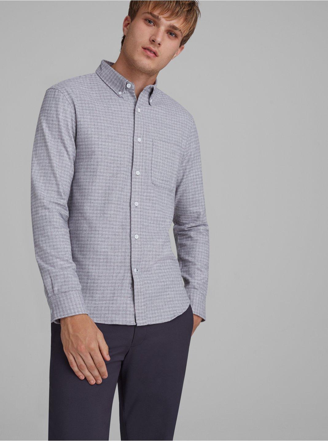 Jaspé Textured Shirt
