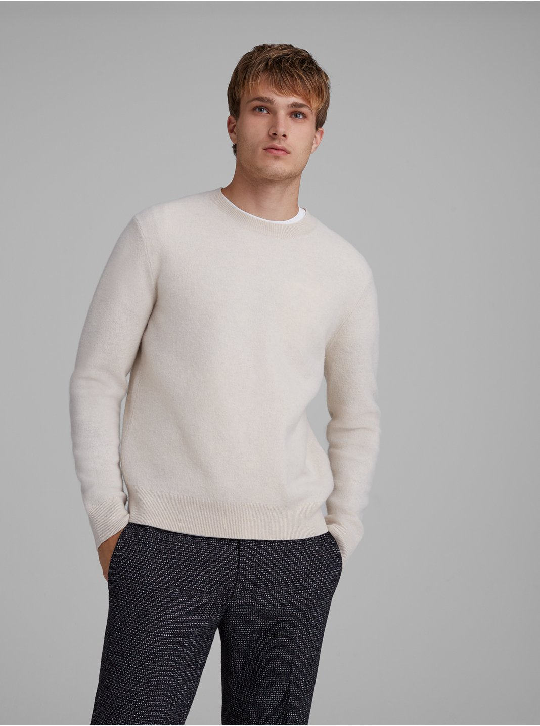 Boiled Wool Sweater
