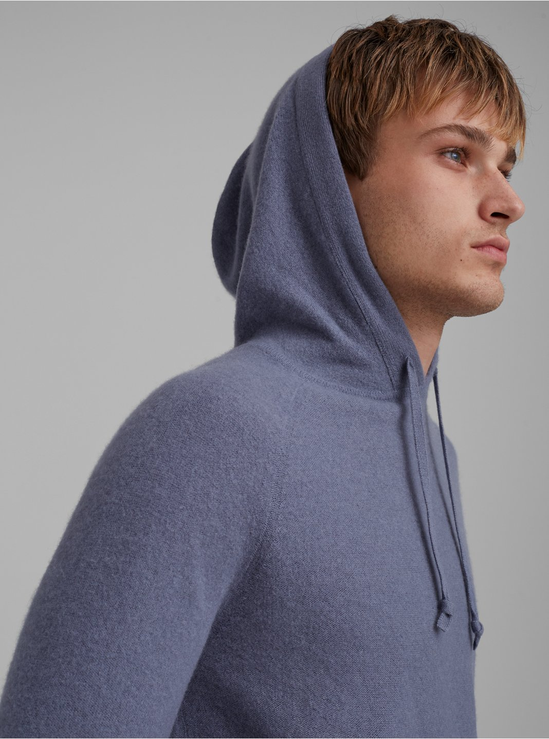 Boiled Cashmere Hoodie
