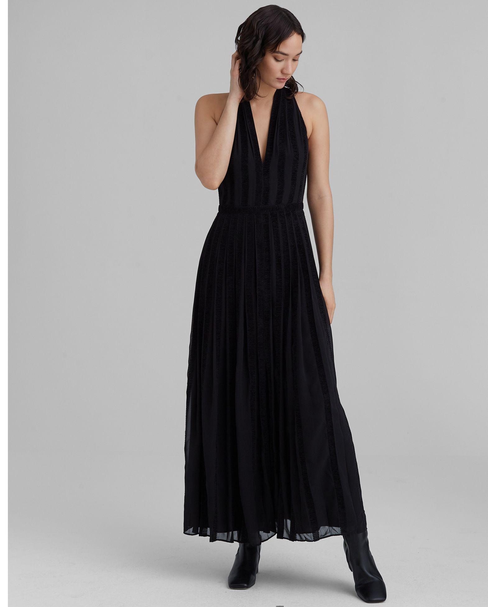 CLUB MONACO Textured Zigzag Dress