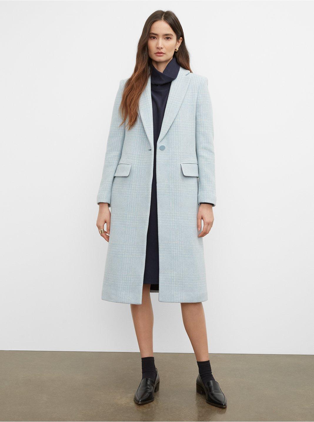 Manteau habillé étroit