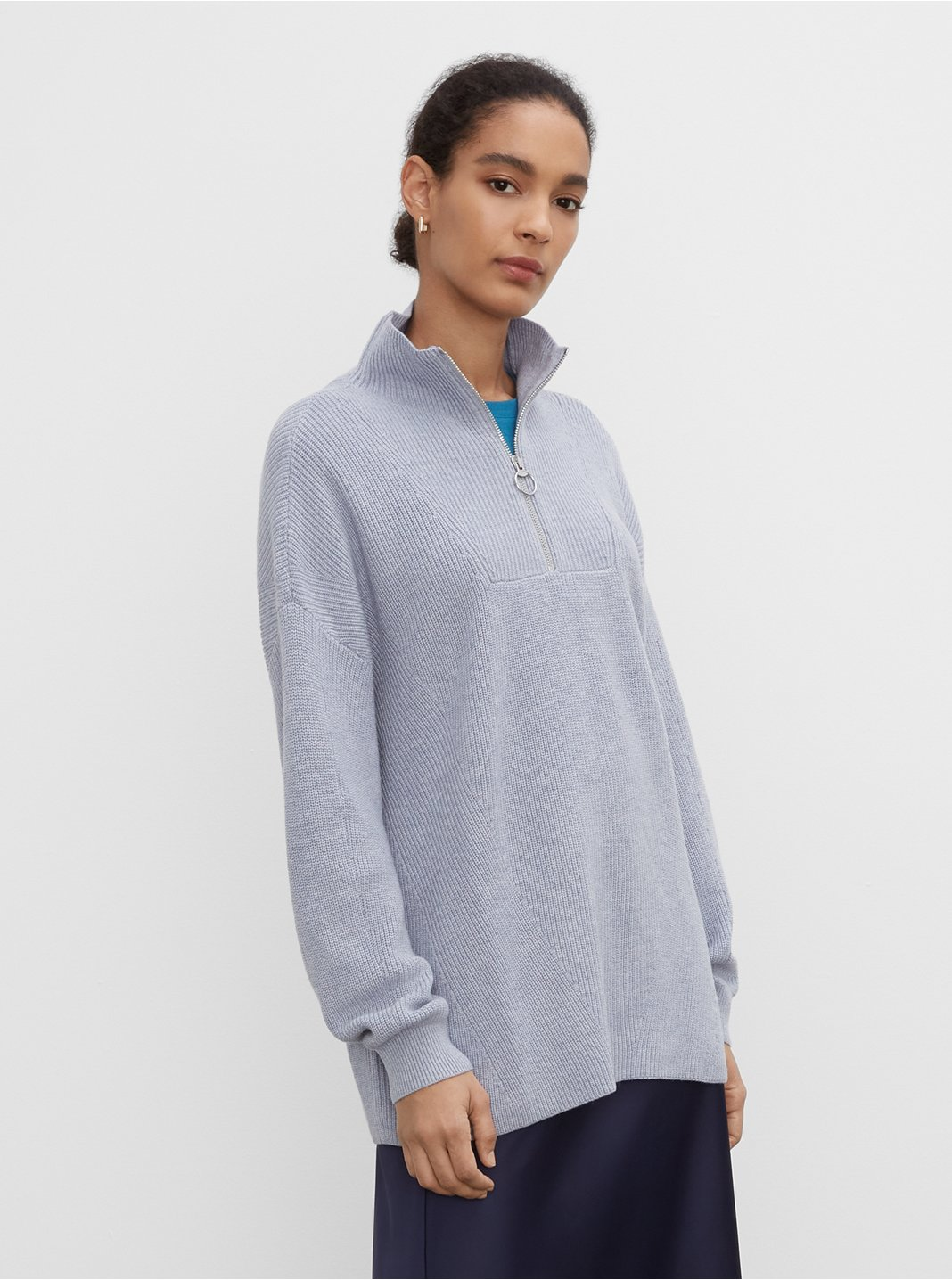 Quarter Zip Pullover Sweater