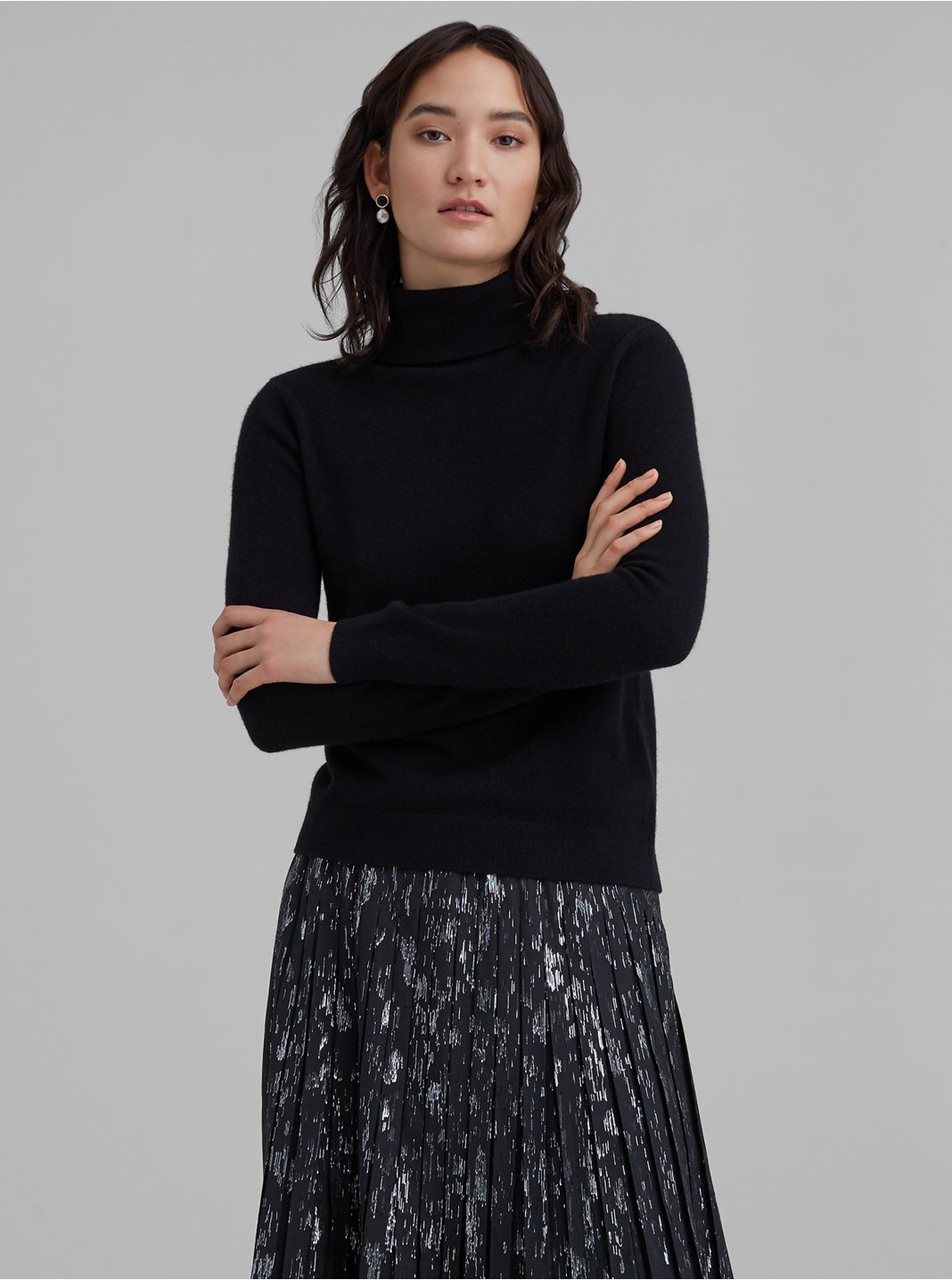 Gennadi Cashmere Turtleneck Sweater