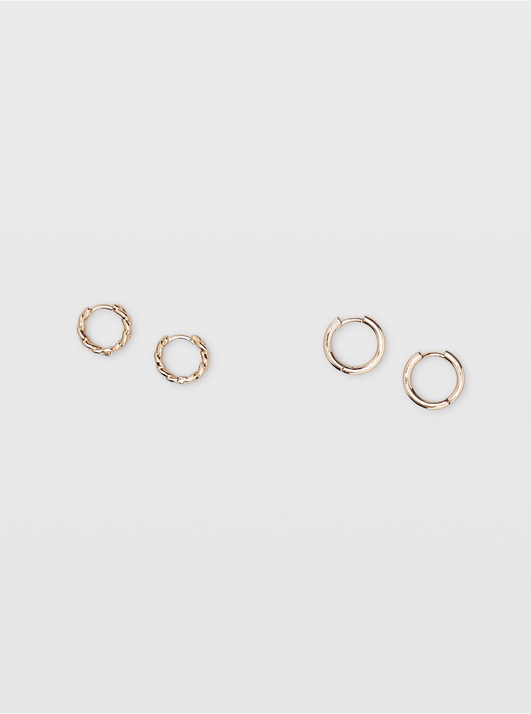 Link Hoop Earring Set
