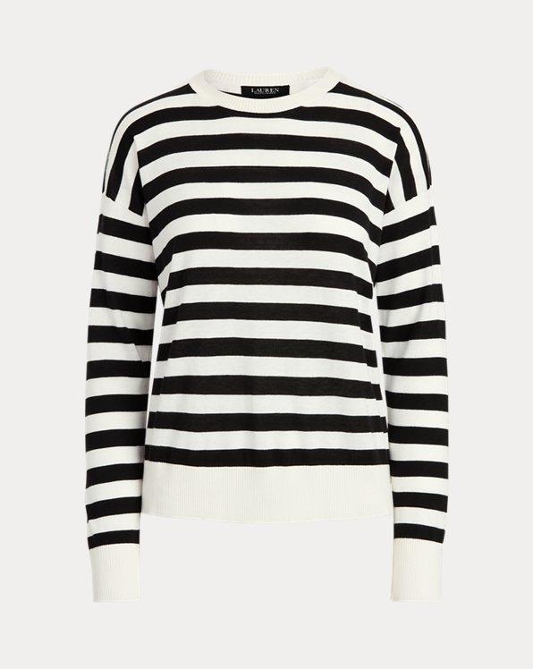 Striped Cotton-Modal Jumper
