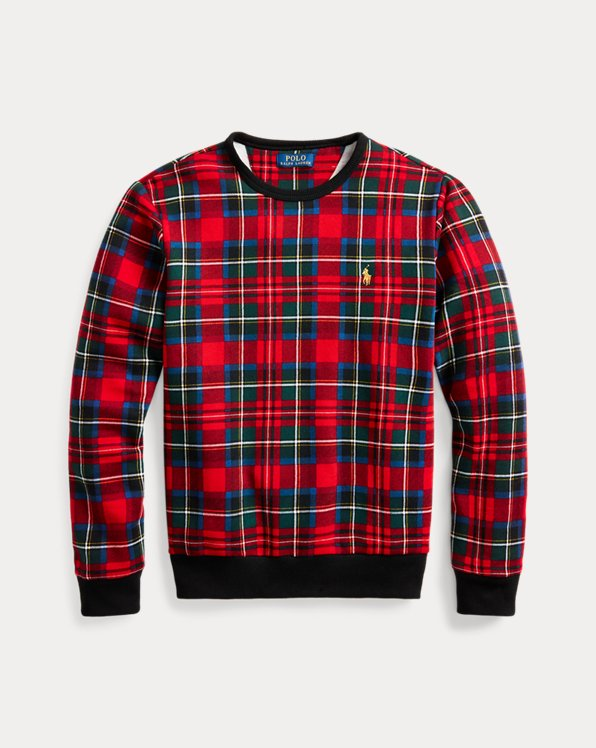 Tartan Fleece Sweatshirt