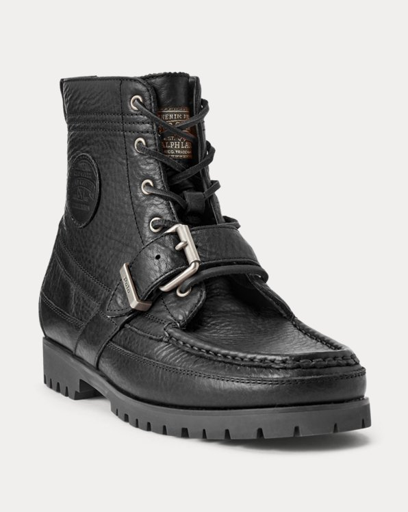 Ranger Tumbled Leather Boot