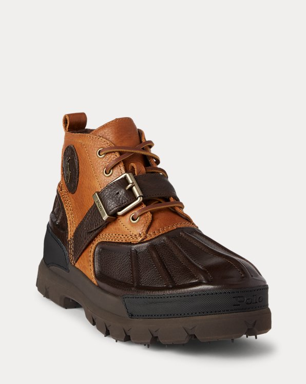 Oslo Low Leather Boot