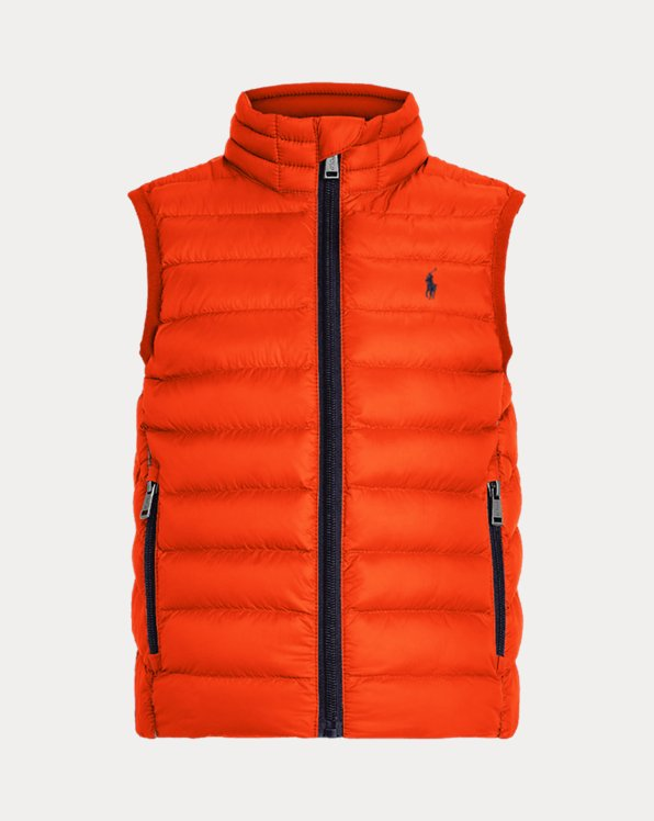 Boys' Custom Packable Gilet