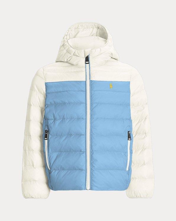 Girls' Custom Packable Hooded Jacket
