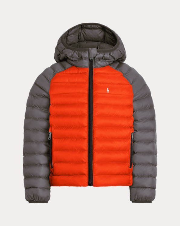Boys' Custom Packable Hooded Jacket
