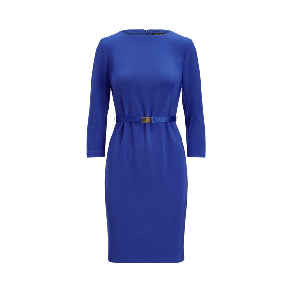 Belted Jersey Dress