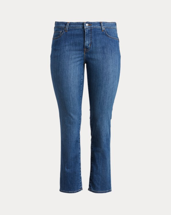 Mid-Rise Straight Jean