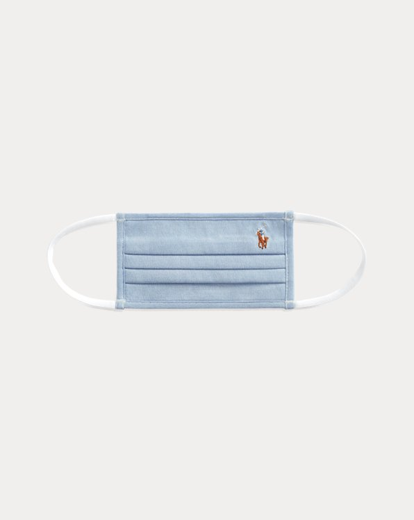 Masque Polo en coton Oxford