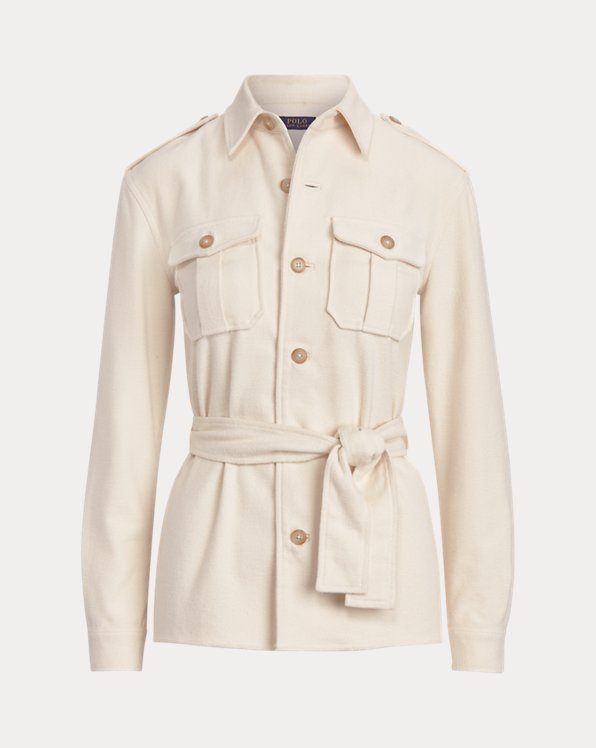 Cotton Belted Shirt