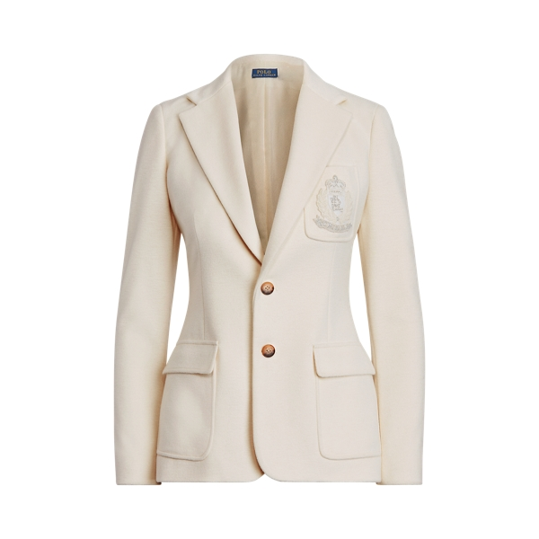 폴로 랄프로렌 셋업 자켓 Polo Ralph Lauren Crest Patch Blazer,Clubhouse Cream