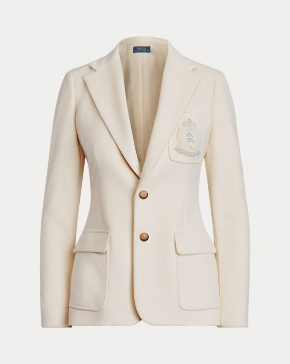 Crest Patch Blazer