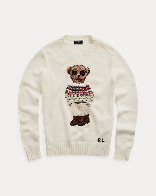 Polo Bear Crewneck Jumper