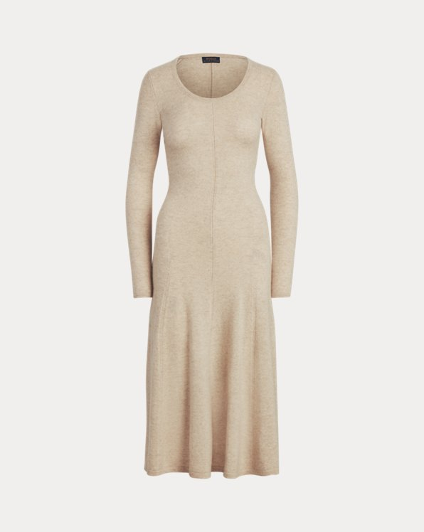 Cashmere Scoopneck Dress