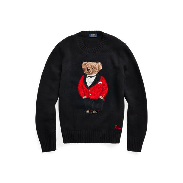 폴로 랄프로렌 Polo Ralph Lauren Lunar New Year Polo Bear Sweater,Polo Black