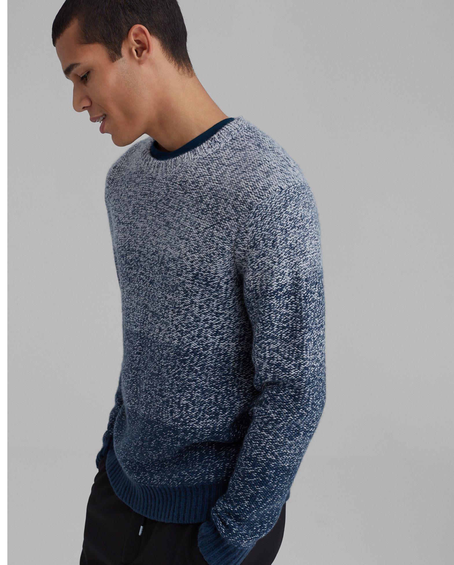 CLUB MONACO Cashmere Gradient Crewneck Sweater