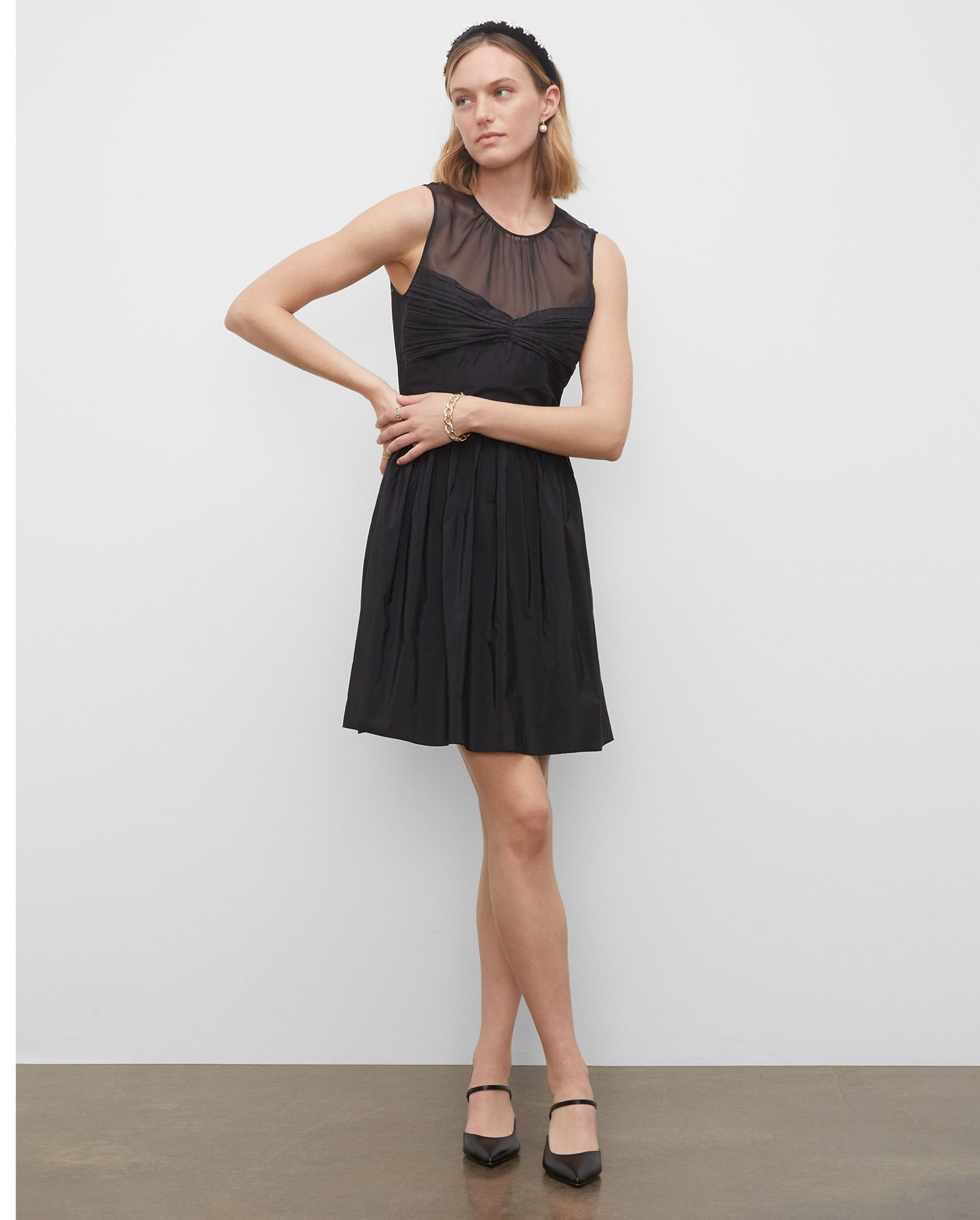 CLUB MONACO Fit  Flare Dress