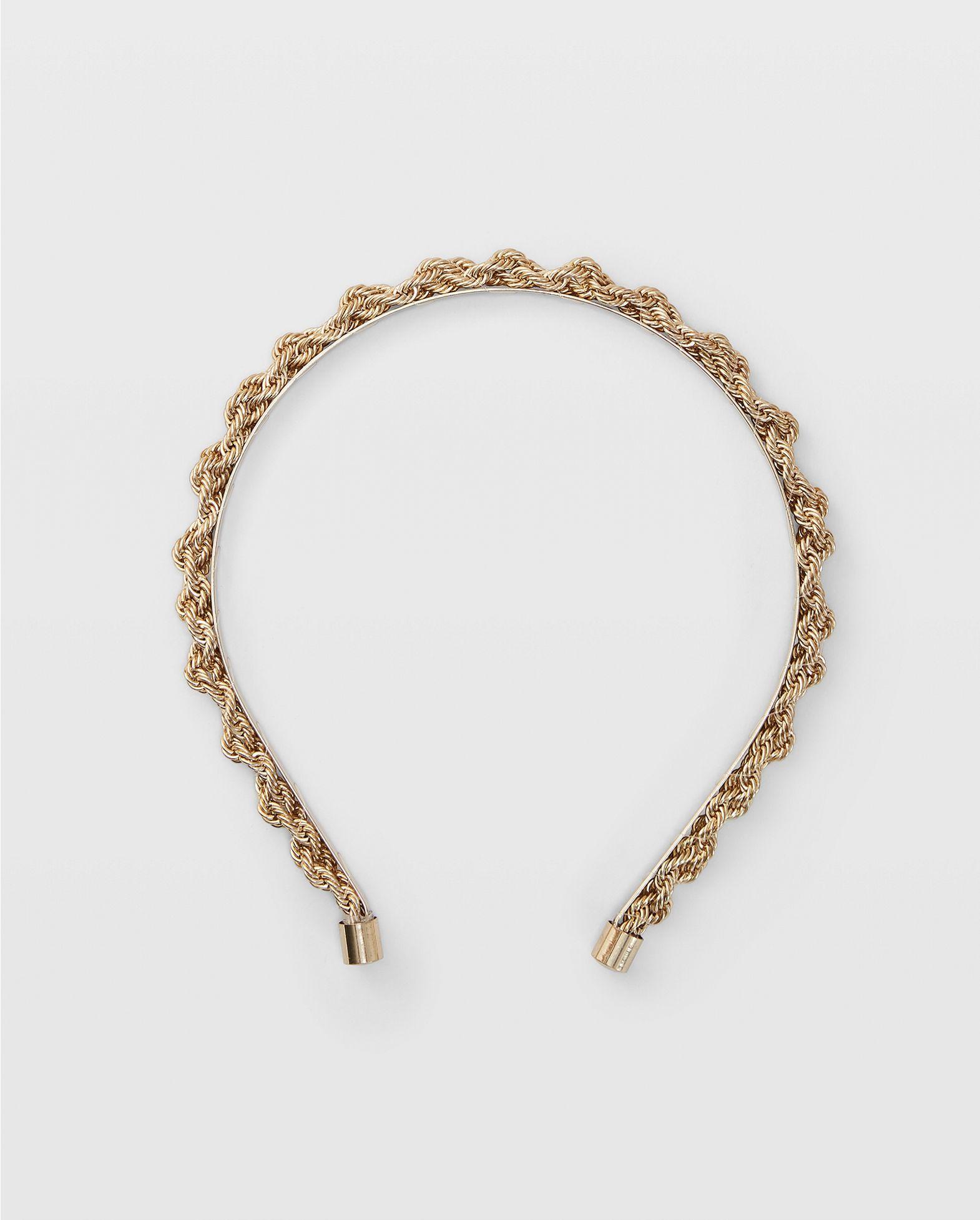CLUB MONACO Twist Chain Headband