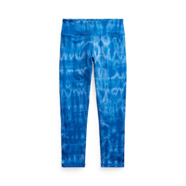 폴로 랄프로렌 걸즈 레깅스 Polo Ralph Lauren Tie-Dye Stretch Jersey Legging,Tie Dye Blue