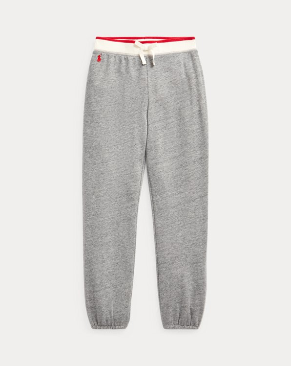 Cotton-Blend Terry Jogger Pant