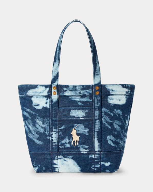 Denim Medium Tote
