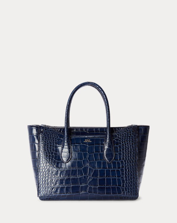 Embossed Medium Sloane Satchel