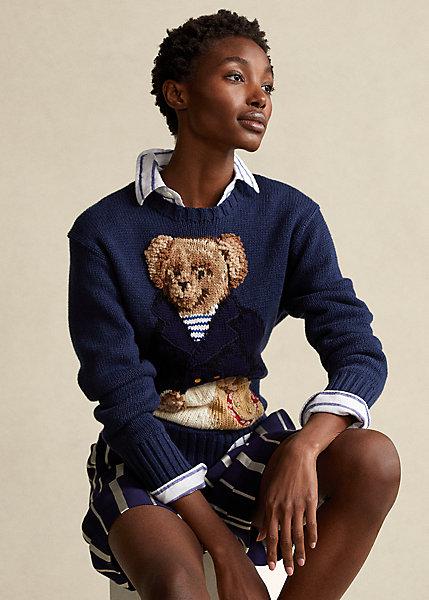 Polo Ralph Lauren Polo Bear Cotton Blend Sweater