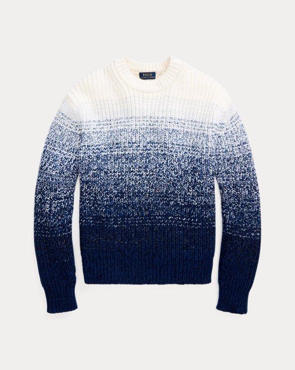 Wool-Blend Ombré Sweater