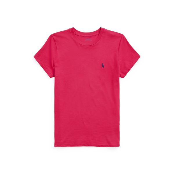 폴로 랄프로렌 Polo Ralph Lauren Cotton Jersey Crewneck Tee,Sport Pink