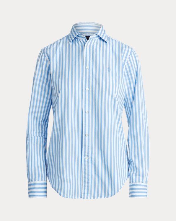 Classic Fit Striped Cotton Shirt