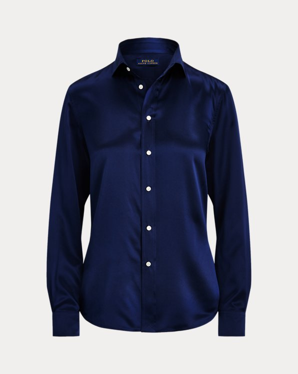 Silk Charmeuse Shirt