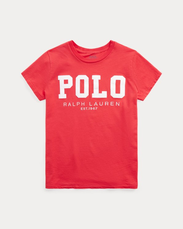 Polo Logo Cotton Jersey Tee