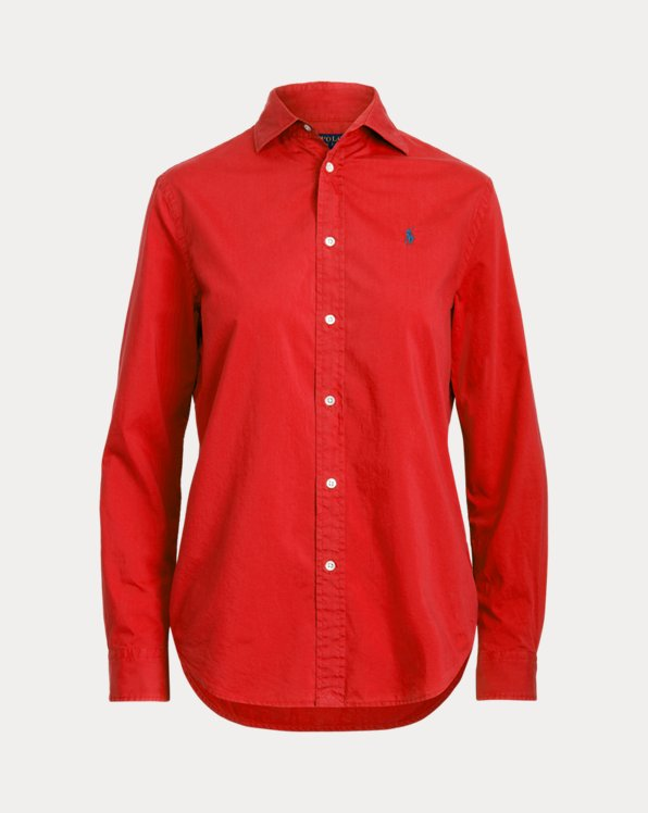 Relaxed-Fit Hemd aus Baumwolltwill