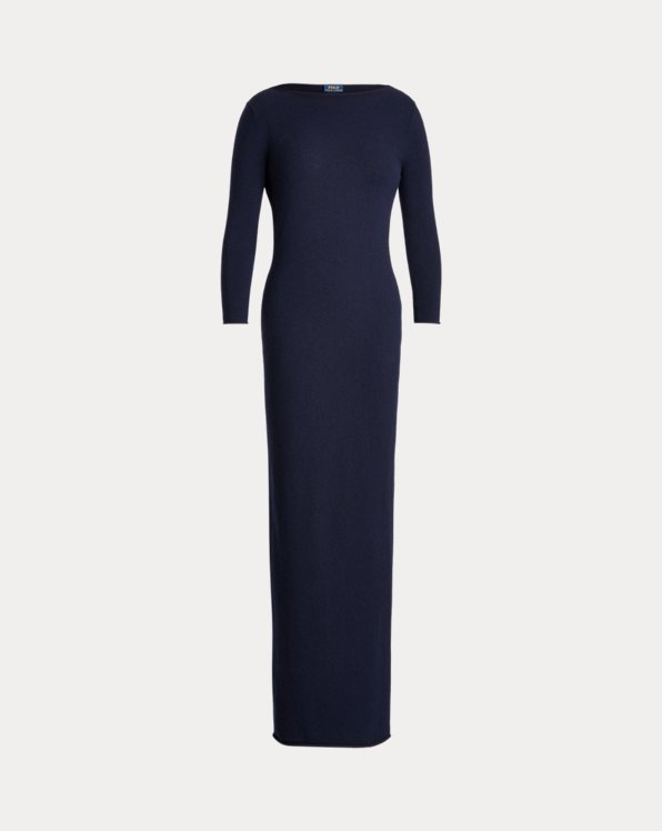 Cashmere Boatneck Dress
