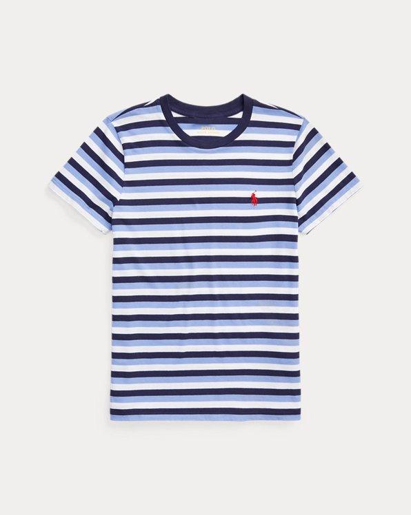 Maglietta in cotone a righe