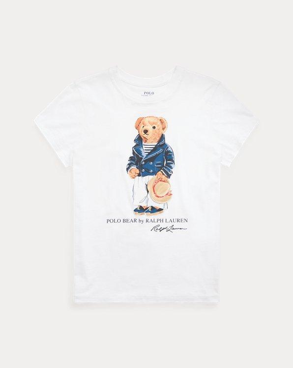 Baumwoll-T-Shirt mit Mariner Polo Bear