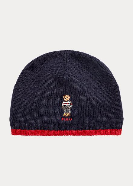 Polo RalphLauren Polo Bear Cotton Hat